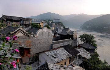 探訪漢江之濱的蜀河古鎮