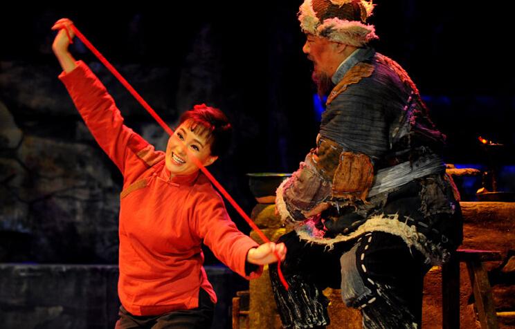 歌劇《白毛女》全國巡演活動延安啟動