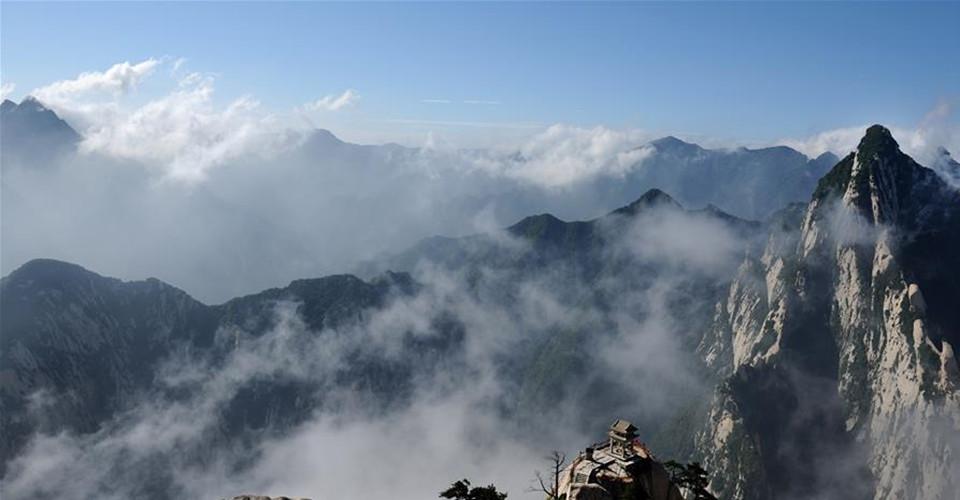 一帶一路·好風光丨西岳華山:奇險天下第一山