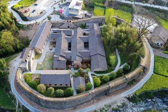 秦巴山區裏的山寨古堡