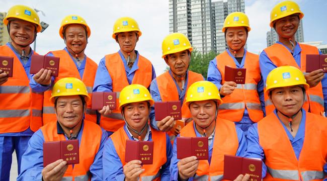 陜西3萬余名建設係統農民工加入工會