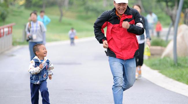 全民健身——親子健步走 歡樂度周末