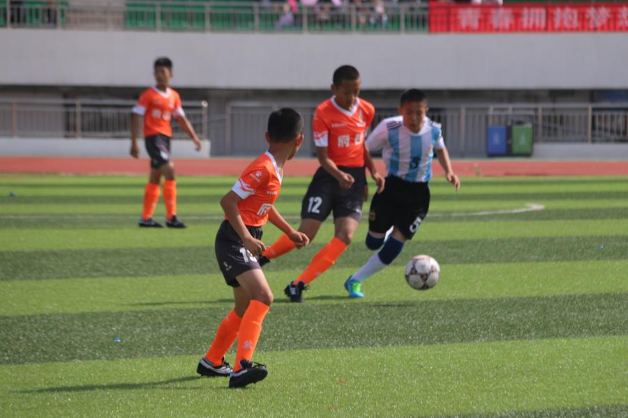 2018榆林市青少年校園足球項目啟動