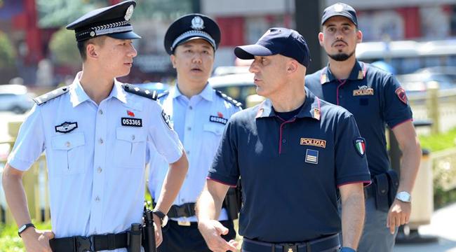 中意警方啟動第二次在華警務聯合巡邏