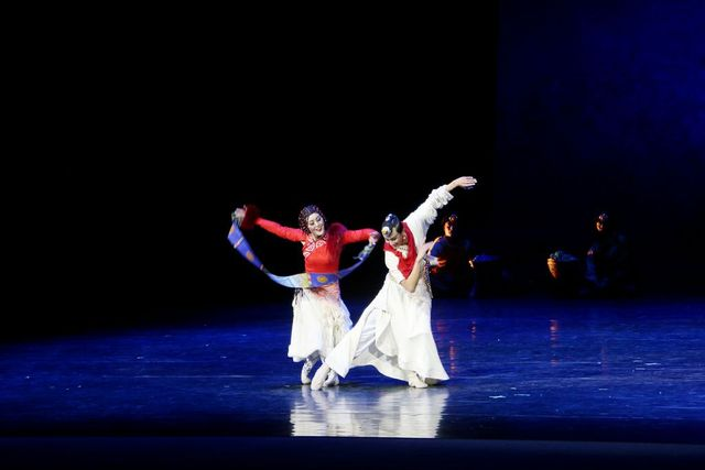 舞劇《唐卡》綻放絲路國際藝術節