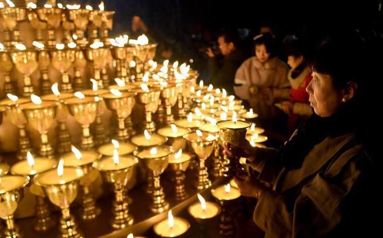 西安:新春祈福燈會祈吉祥