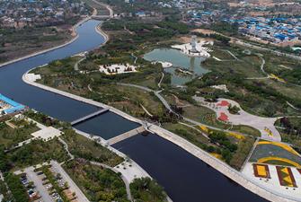 """山河交錯打造富閻板塊""""城市綠肺"""""""
