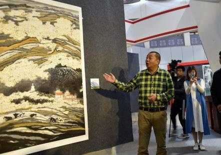 陜西美術博物館館藏國畫在拉薩展出