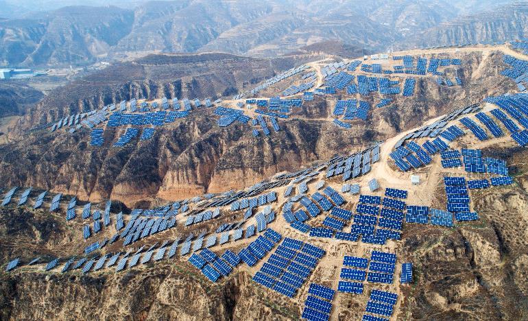 陜西榆林:風光新能源消納突破56億千萬時