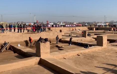 秦漢櫟陽城遺址發現壁爐和浴室