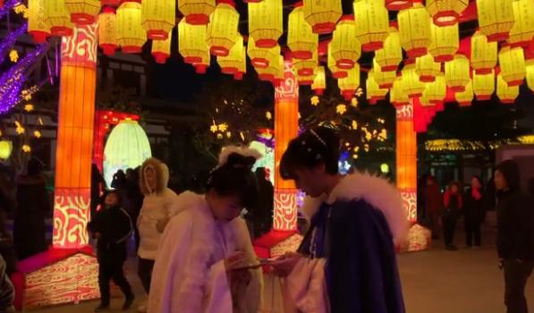 這個中國年 來西安臨潼看燈展