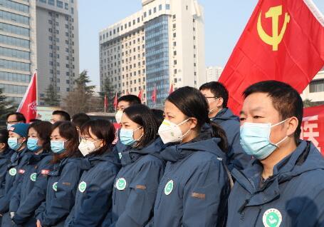陜中醫藥大學支援湖北國家中醫醫療隊馳援武漢