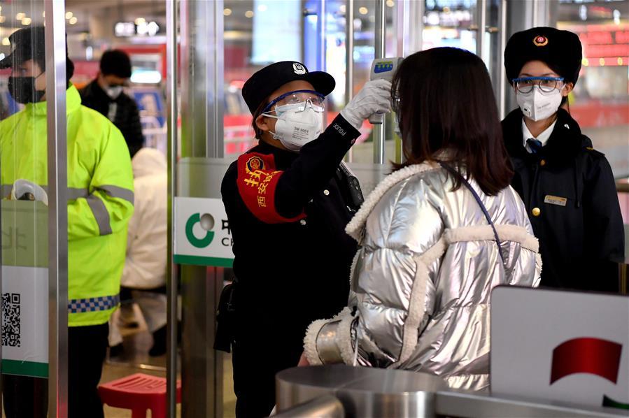 西安鐵路公安加強疫情防控
