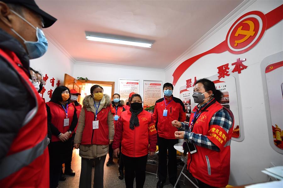 西安:基層黨組織引領 築牢防疫堅強堡壘