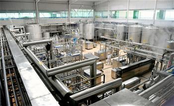 西安乳企有序生産 保障市場供應