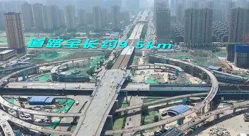 西安城區交通優化提升工程高效推進