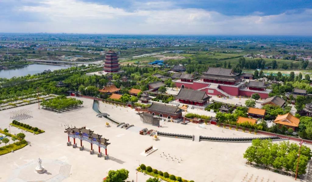 西安樓觀生態文化旅遊度假區免費開放