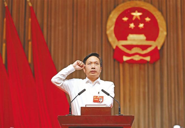 趙一德當選陜西省人民政府省長