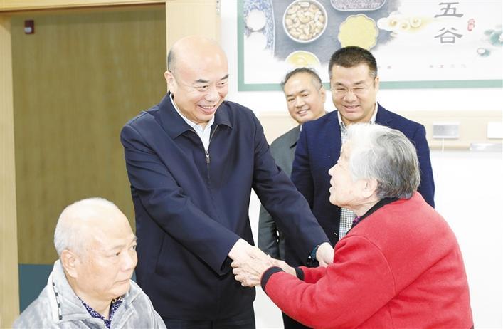 省委書記劉國中到西安市調研養老服務工作