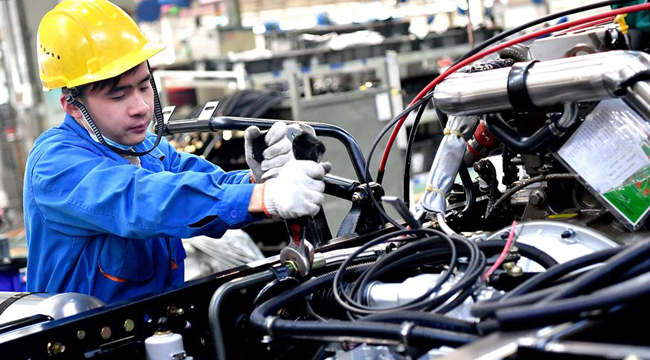 陜汽1至10月汽車産量同比增長28.5%