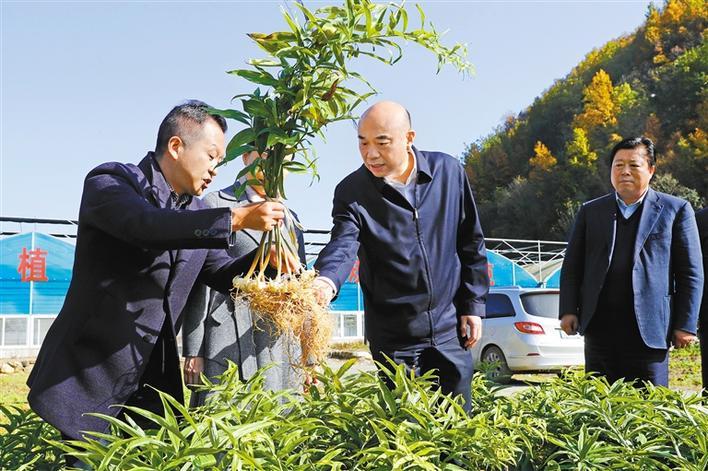 劉國中:一鼓作氣 確保如期打贏脫貧攻堅戰