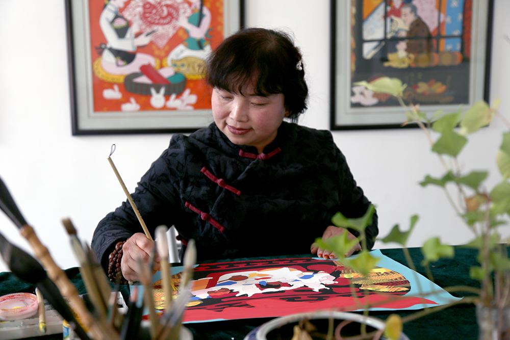 傅蕊霞:農民畫需把種子播進孩子心裏