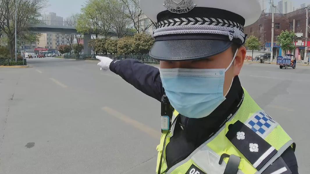 """西安交警:安全守護宣傳""""出新招"""""""