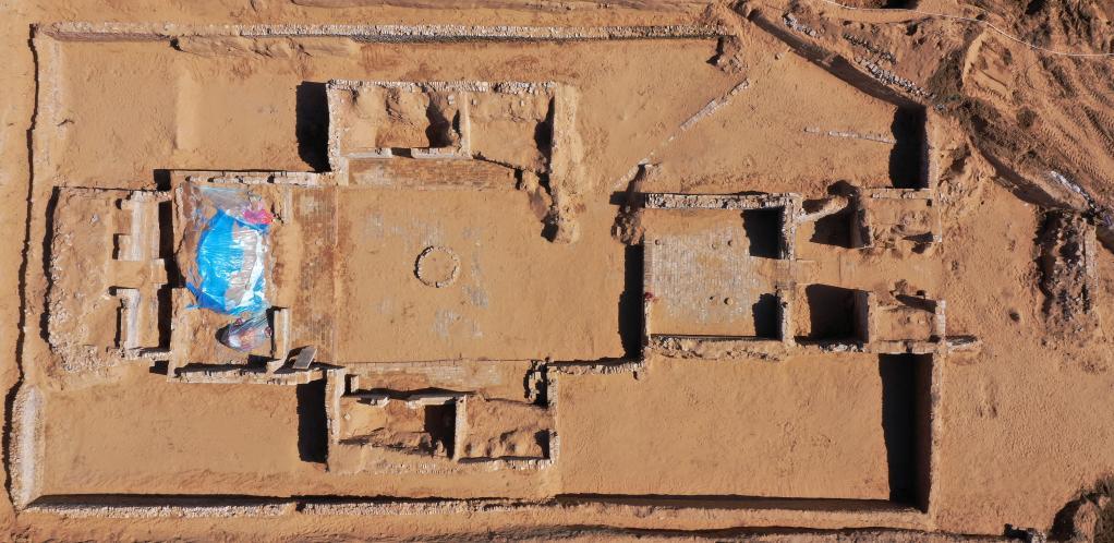 陜西榆林發現明代長城城堡遺址