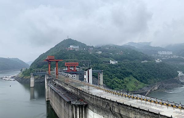 安康水電廠騰出防汛庫容迎汛期